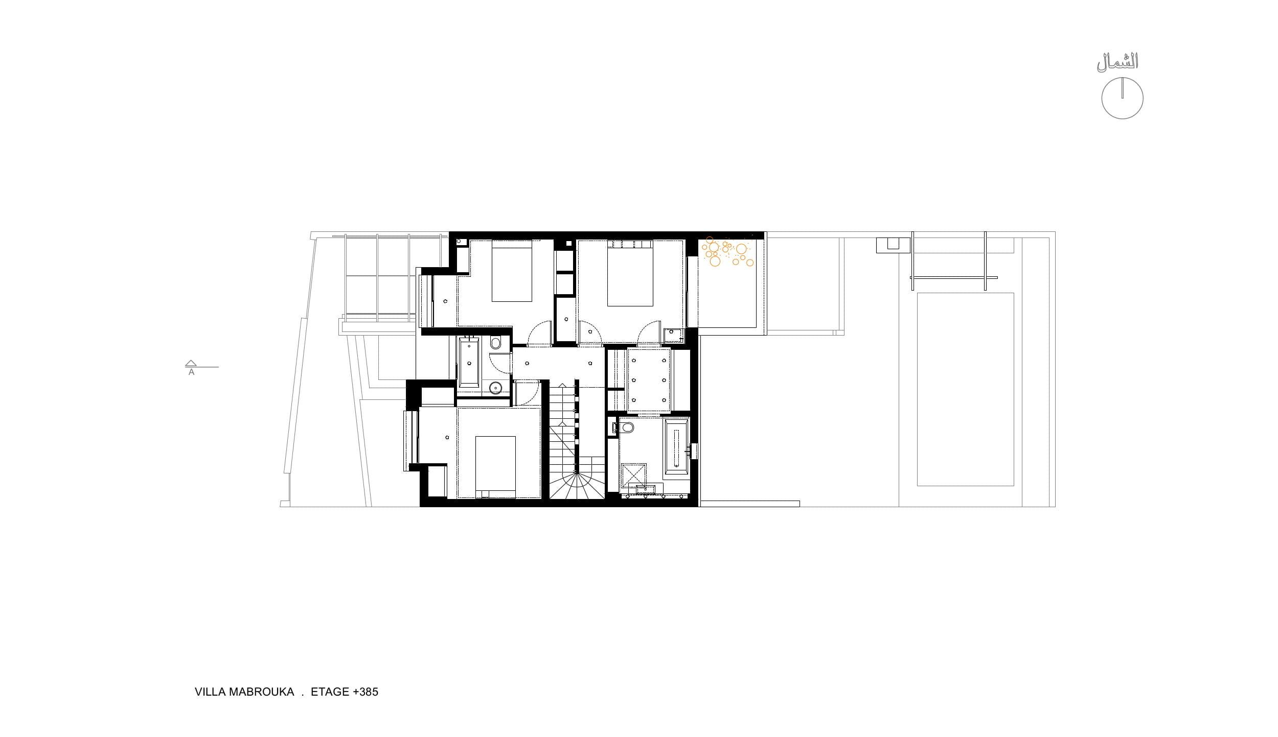 MABROUKA.plan 02-etage