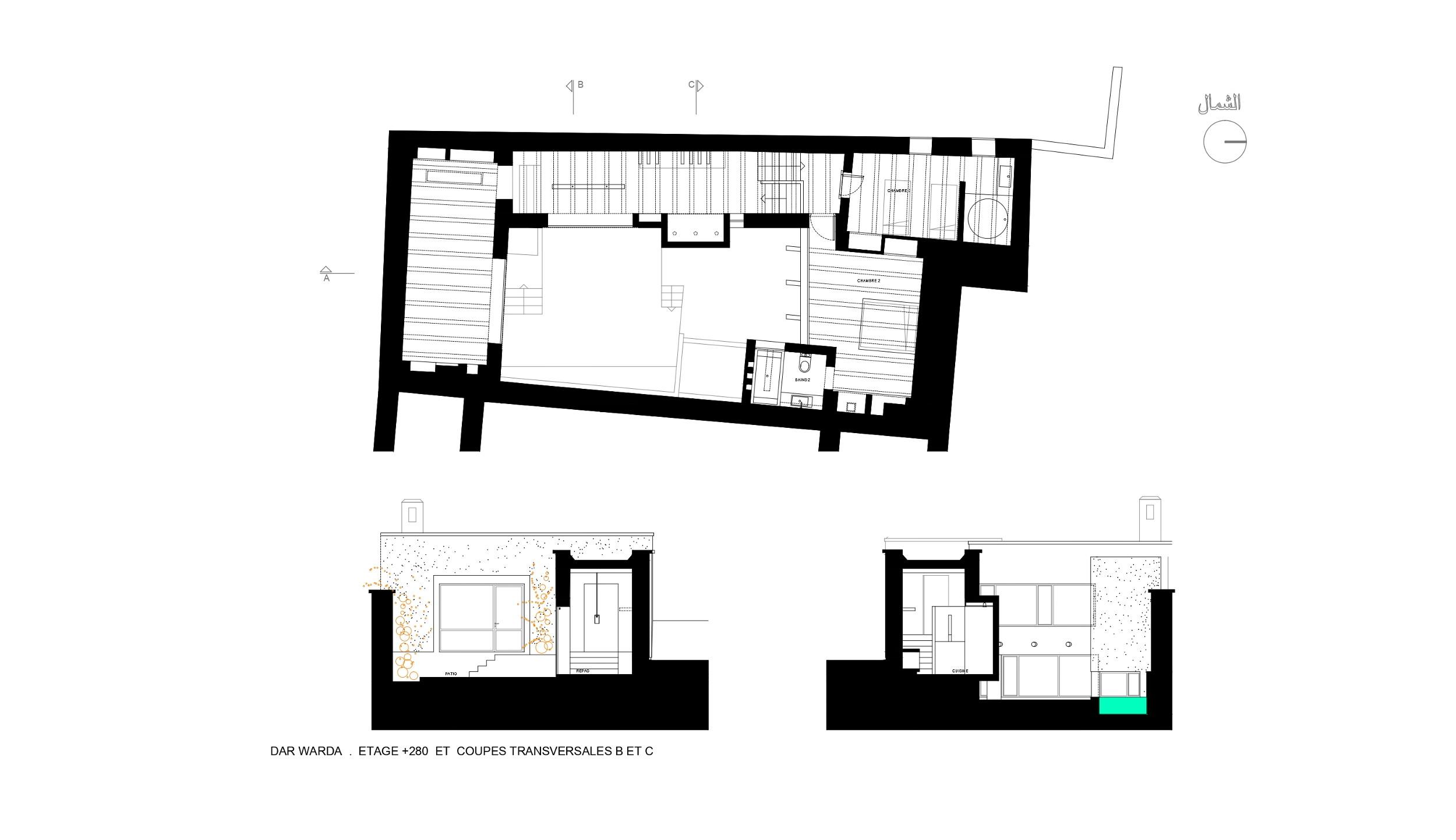SITE.DAR WARDA-plan-02-étage
