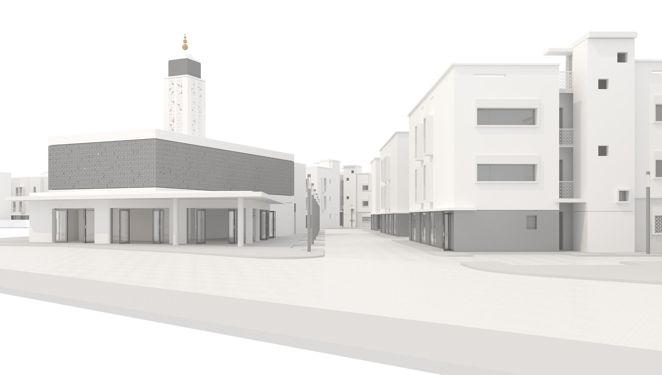 MH.SITE.RES RAIS.09.vue commerce mosquée